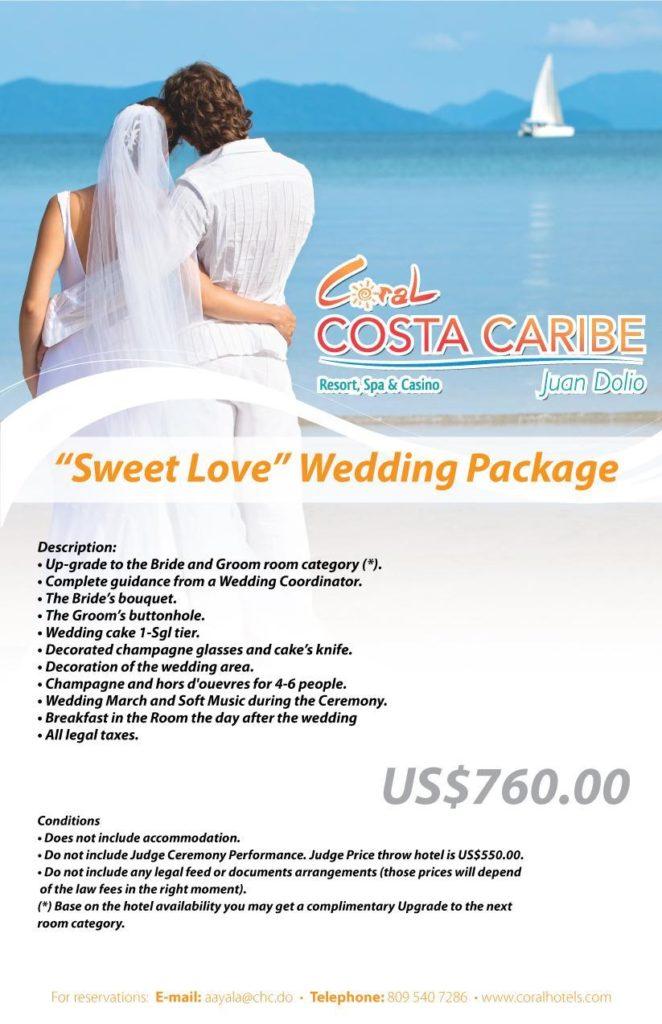 Sweet Love Wedding Package (I)